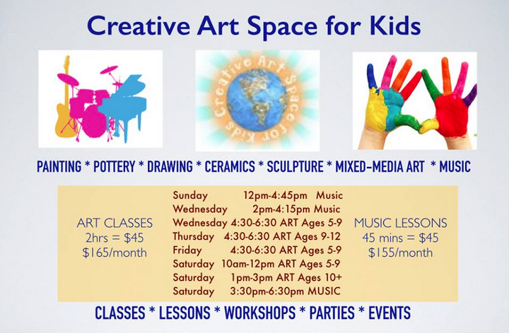 CREATIVE ART SPACE FOR KIDS