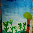 Artwork created by the students of Creative Art Space for Kids